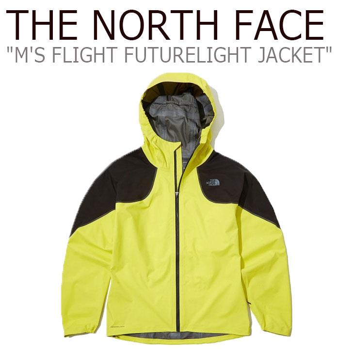 ノースフェイス ジャケット THE NORTH FACE メンズ M'S FLIGHT FUTURELIGHT JACKET フライト フューチャーライトジャケット LEMON レモン NJ2HL05A ウェア 【中古】未使用品