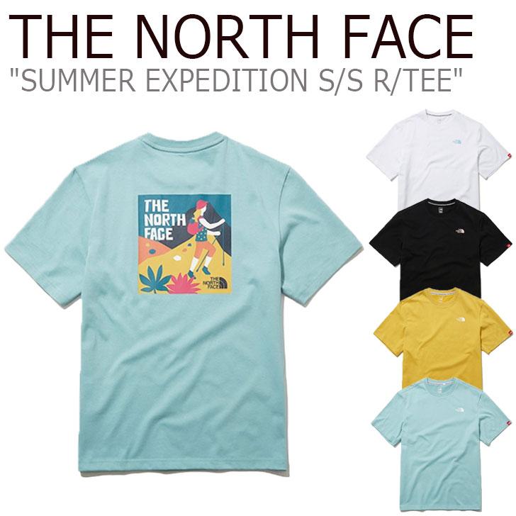 ノースフェイス Tシャツ THE NORTH FACE メンズ レディース SUMMER EXPEDITION S/S R/TEE サマー エクスペディション ショートスリーブ ラウンドTEE 全4色 NT7UL07A/B/D/F ウェア 【中古】未使用品