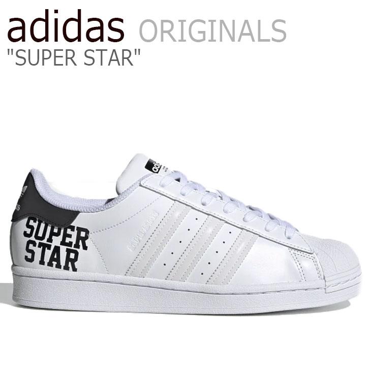 アディダス スーパースター スニーカー adidas メンズ レディース SUPERSTAR スーパースター WHITE ホワイト FV2813 シューズ【中古】未使用品