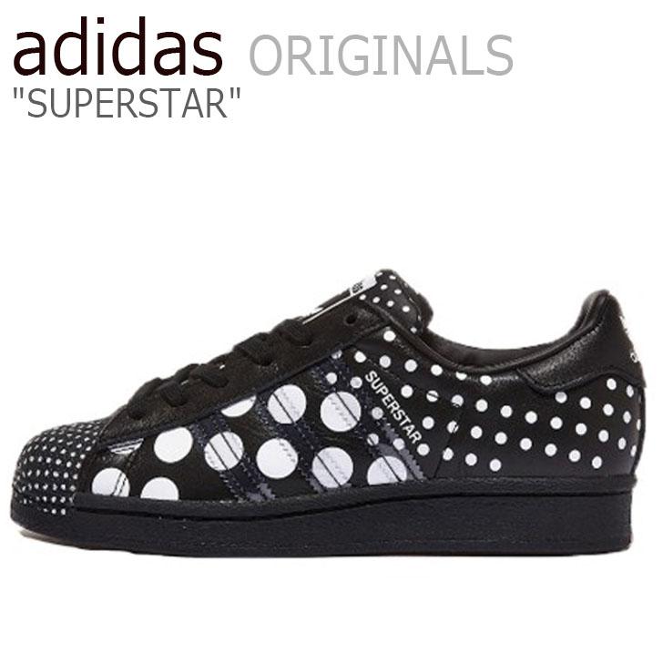 アディダス スーパースター スニーカー adidas メンズ レディース SUPERSTAR スーパー スター BLACK ブラック FX7776 シューズ【中古】未使用品