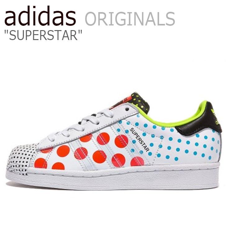 アディダス スーパースター スニーカー adidas メンズ レディース SUPERSTAR スーパー スター WHITE ホワイト FX7777 シューズ【中古】未使用品