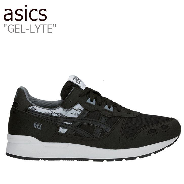 アシックス スニーカー asics メンズ レディース GEL-LYTE ゲルライト BLACK ブラック 1191A056-001 シューズ