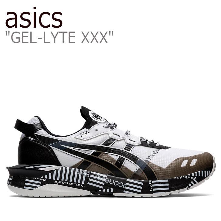 アシックス スニーカー asics メンズ GEL-LYTE XXX ゲルライト 30 WHITE ホワイト BLACK ブラック 1021A391-100 シューズ