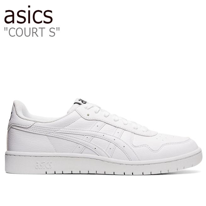 アシックス スニーカー asics メンズ COURT S コート エス WHITE ホワイト 1191A163-100 シューズ