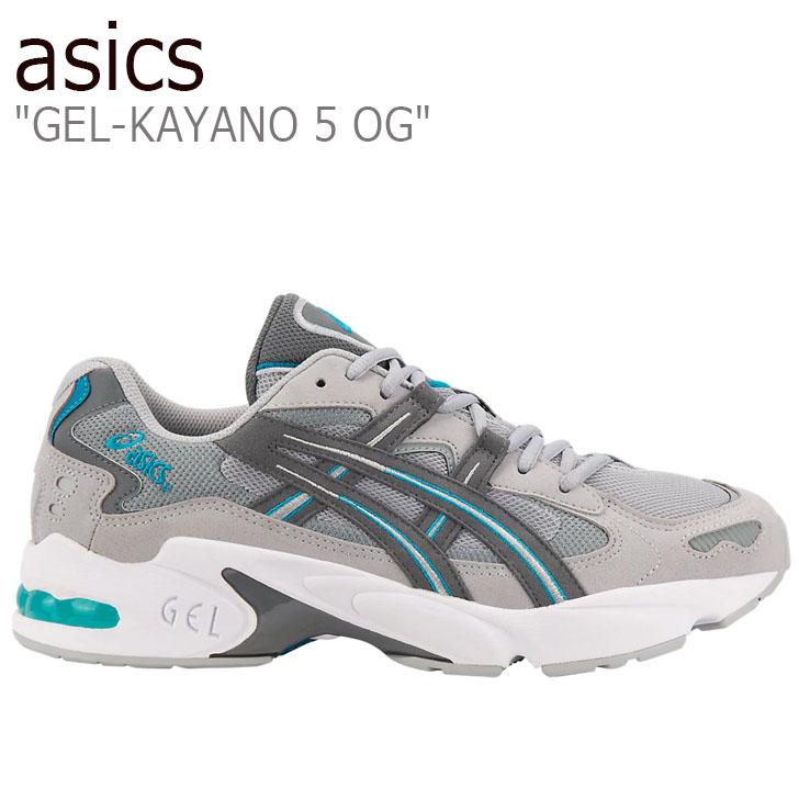 アシックス スニーカー asics メンズ GEL-KAYANO 5 OG ゲルカヤノ ファイブ オージー GREY グレー 1191A178-020 シューズ