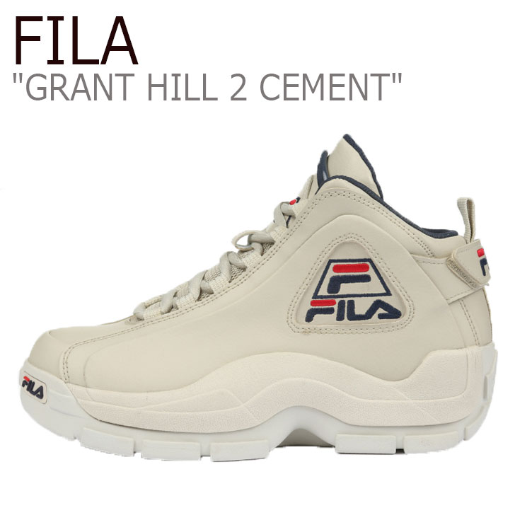 フィラ スニーカー FILA メンズ GRANT HILL 2 CEMENT グラントヒル 2 セメント GREY グレー 1BM00736-050 シューズ