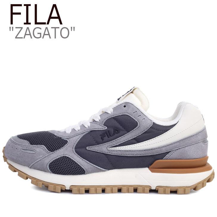 フィラ スニーカー FILA メンズ レディース ZAGATO ザガト GREY グレー 1GM00849-050 シューズ