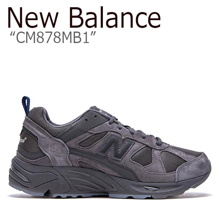 ニューバランス 878 スニーカー New Balance メンズ レディース CM 878 MB1 new balance 878 DARK GRAY ダーク グレー NBPDAS178X CM878MB1 シューズ 【中古】未使用品