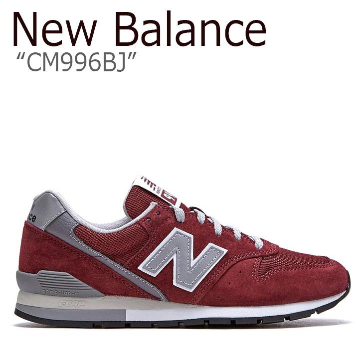ニューバランス 996 スニーカー New Balance メンズ レディース CM 996 BJ new balance 996 BURGUNDY バーガンディ NBPDAS184C CM996BJ シューズ 【中古】未使用品