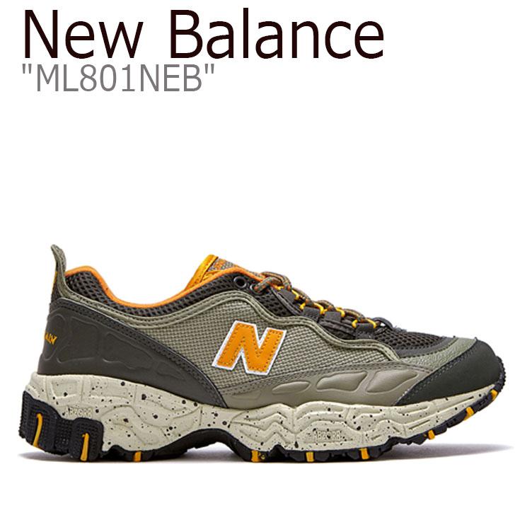 ニューバランス 801 スニーカー New Balance メンズ レディース ML 801 NEB new balance 801 KHAKI カーキ FLNBAA1U35 ML801NEB シューズ 【中古】未使用品