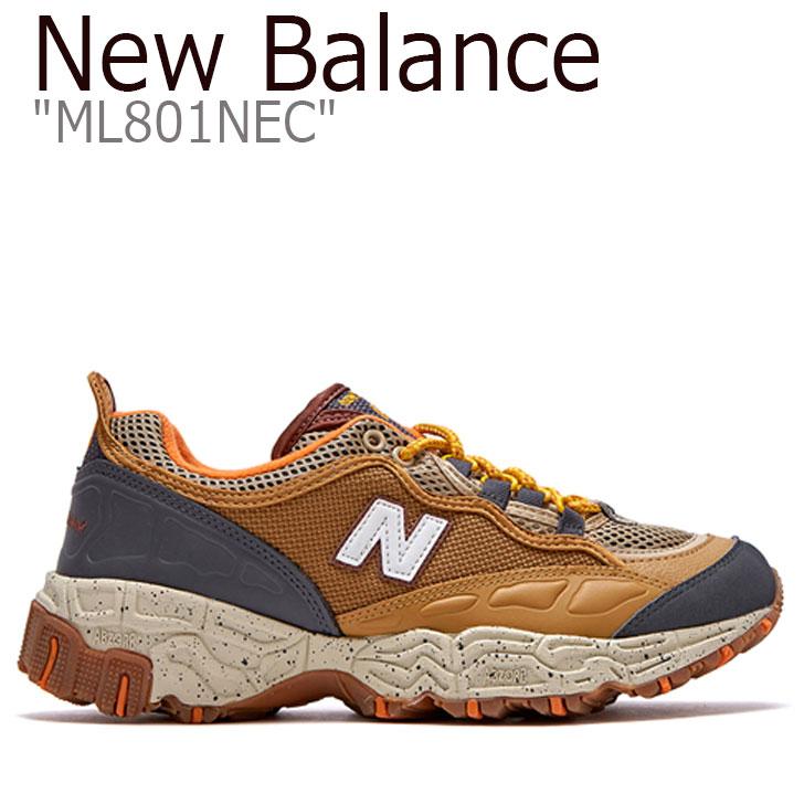 ニューバランス 801 スニーカー New Balance メンズ レディース ML 801 NEC new balance 801 BROWN ブラウン FLNBAA1U34 ML801NEC シューズ 【中古】未使用品