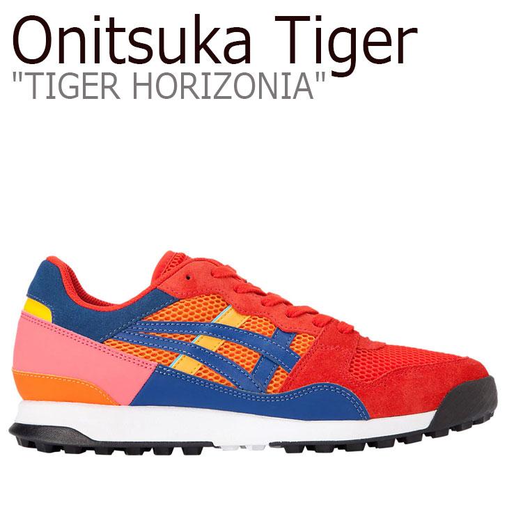 オニツカタイガー スニーカー Onitsuka Tiger メンズ レディース TIGER HORIZONIA タイガー ホリゾニア HABANERO ハバネロ TIGER YELLOW タイガーイエロー 1183A734-609 シューズ