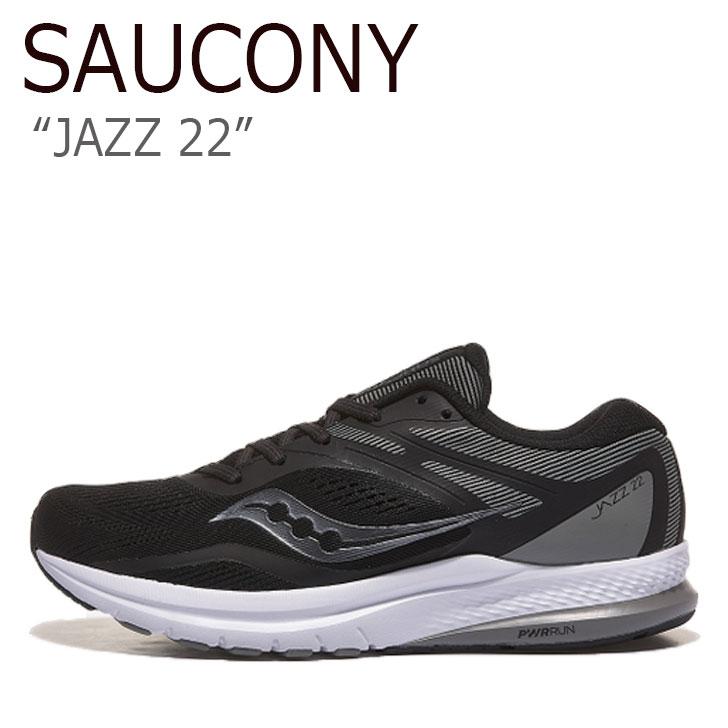 サッカニー スニーカー SAUCONY メンズ JAZZ 22 ジャズ 22 BLACK ブラック S20567-35 シューズ