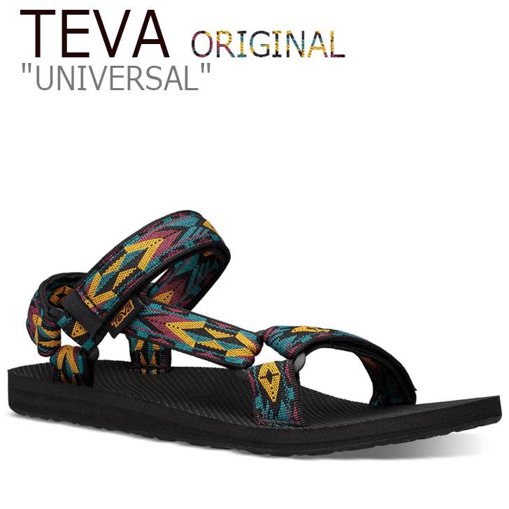 テバ ユニバーサル サンダル TEVA メンズ ORIGINAL UNIVERSAL オリジナル ユニバーサル DOUBLE DIAMOND DEEP LAKE ダイアモンドディープレイク 1004006-DDDL シューズ
