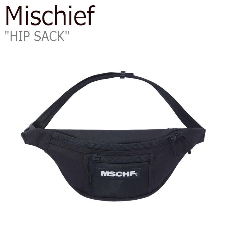 ミスチーフ ボディバッグ MISCHIEF レディース HIP SACK ヒップサック BLACK ブラック MCF ACC 20SS-0052BK バッグ