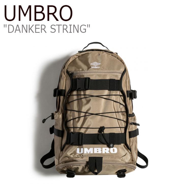 アンブロ リュック UMBRO メンズ レディース DANKER STRING ダンカー ストリング BEIGE ベージュ U0123CBP14 バッグ