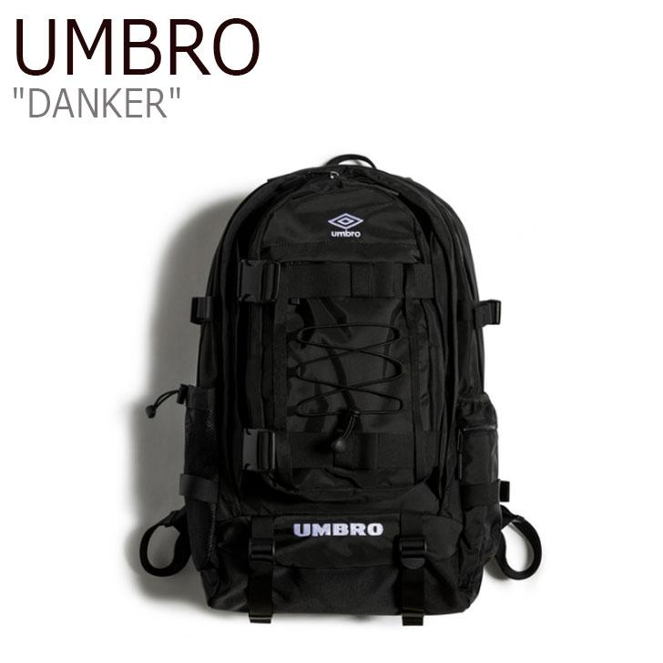 アンブロ リュック UMBRO メンズ レディース DANKER ダンカー BLACK ブラック U0123CBP17 バッグ