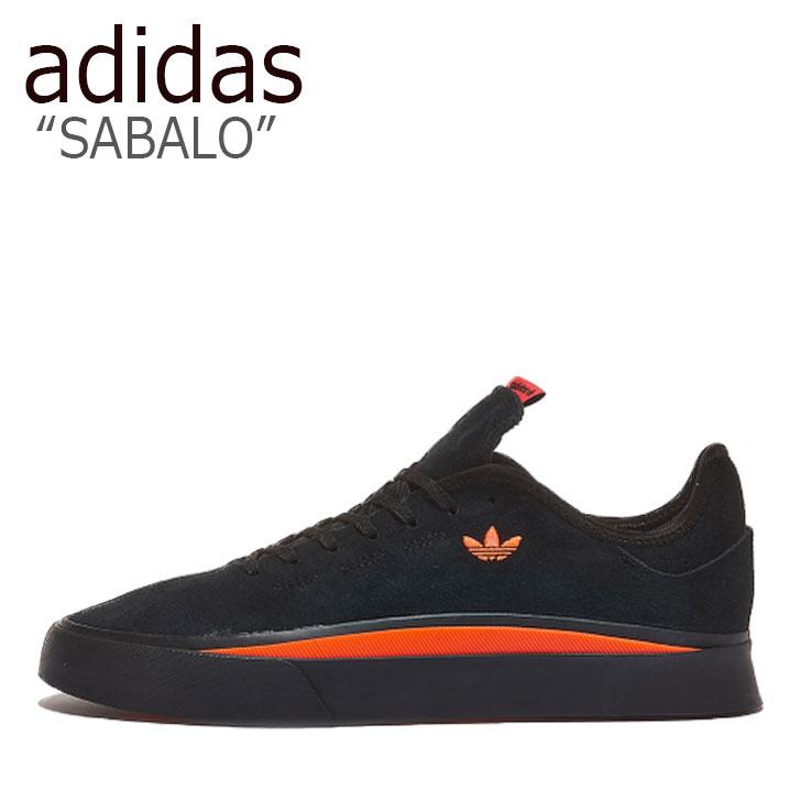 アディダス スニーカー adidas メンズ SABALO サバロ BLACK ブラック EF8500 シューズ 【中古】未使用品