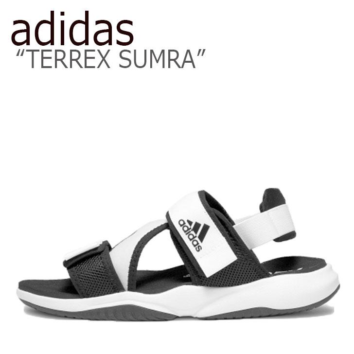 アディダス サンダル adidas メンズ レディース TERREX SUMRA テレックス サムラ WHITE ホワイト BLACK ブラック FV0846 シューズ 【中古】未使用品