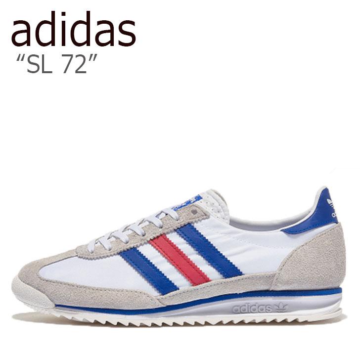 アディダス スニーカー adidas メンズ レディース SL 72 エスエル 72 MULTI マルチ WHITE ホワイト BLUE ブルー RED レッド FV4430 シューズ 【中古】未使用品
