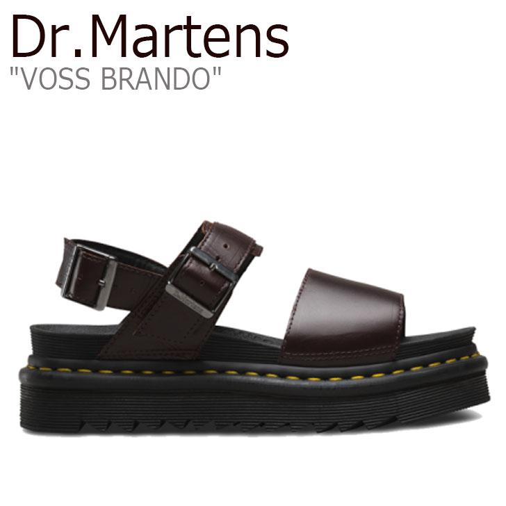 ドクターマーチン サンダル Dr.Martens レディース VOSS BRANDO ボス ヴォス ブランド BROWN ブラウン 23804211 シューズ【中古】未使用品