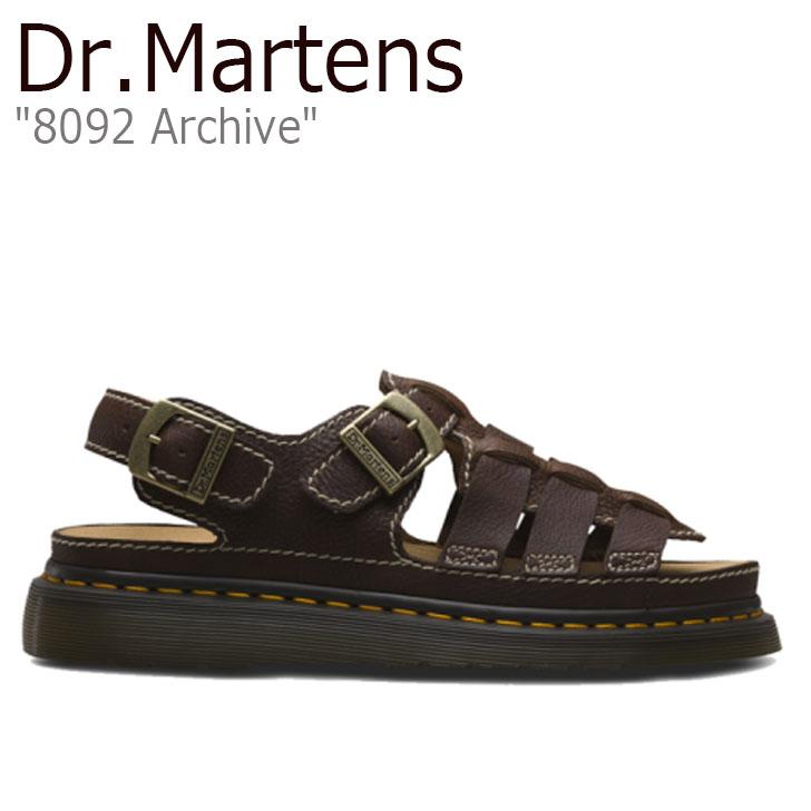 ドクターマーチン サンダル Dr.Martens メンズ 8092 Archive アーカイブ DARK ダーク BROWN ブラウン 24834201 シューズ【中古】未使用品