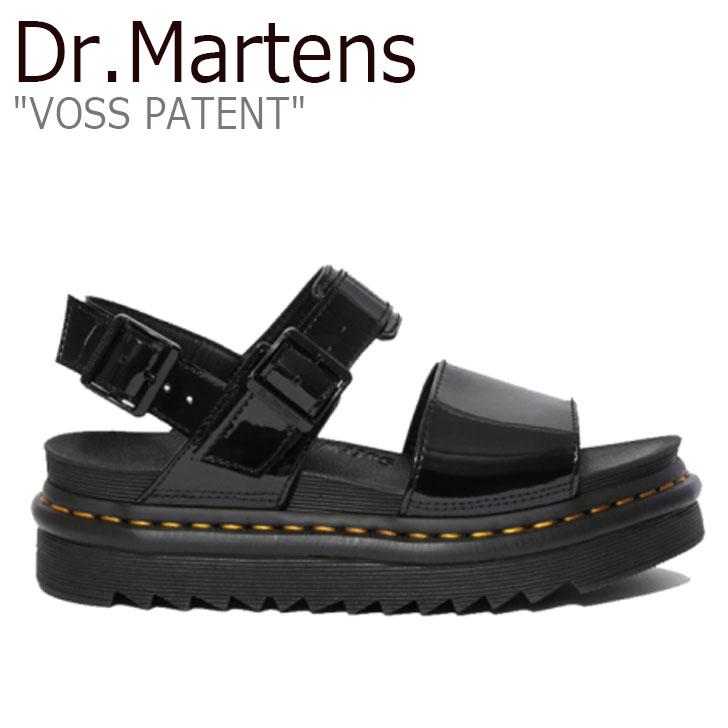ドクターマーチン サンダル Dr.Martens レディース VOSS PATENT ボス ヴォス パテント BLACK ブラック 25773001 シューズ【中古】未使用品