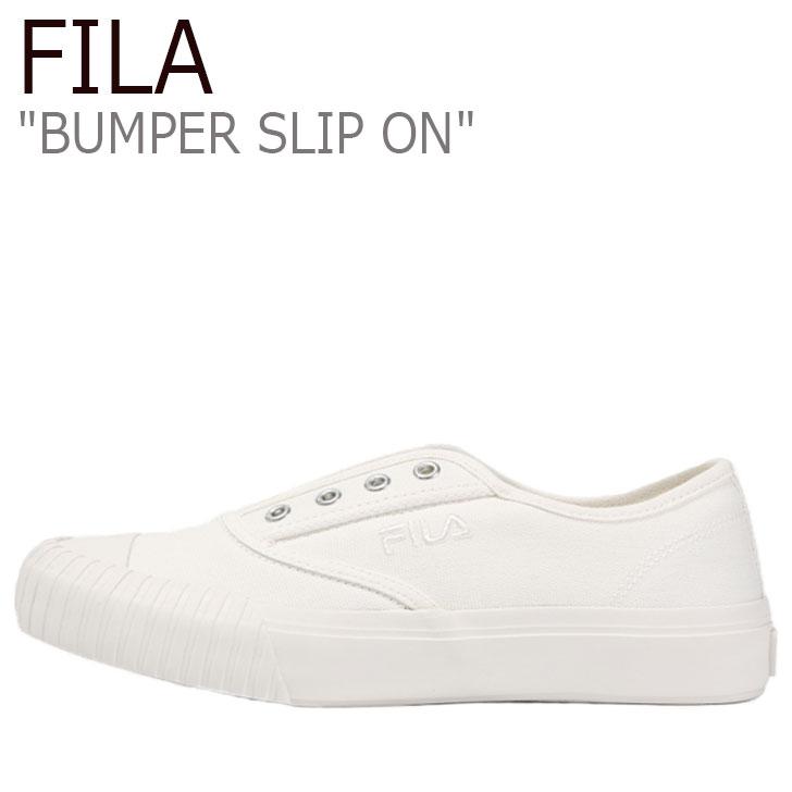 フィラ スニーカー FILA メンズ レディース BUMPER SLIP ON バンパー スリッポン BEIGE ベージュ WHITE ホワイト 1XM01005-926 シューズ