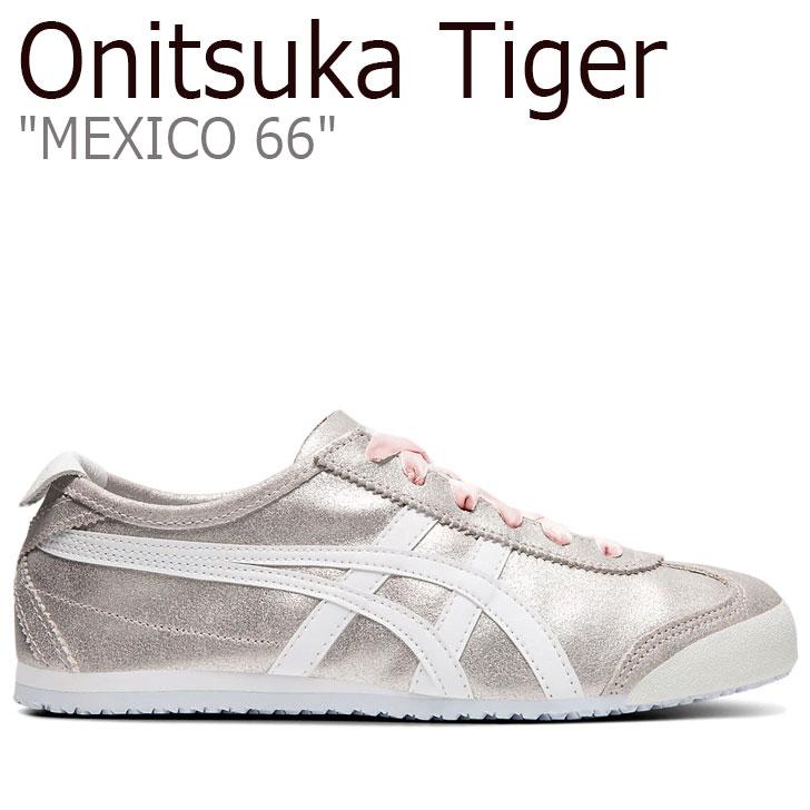 オニツカタイガー メキシコ66 スニーカー レディース Onitsuka Tiger MEXICO 66 メキシコ 66 SAKURAGAI サクラガイ WHITE ホワイト 1182A184-700 シューズ