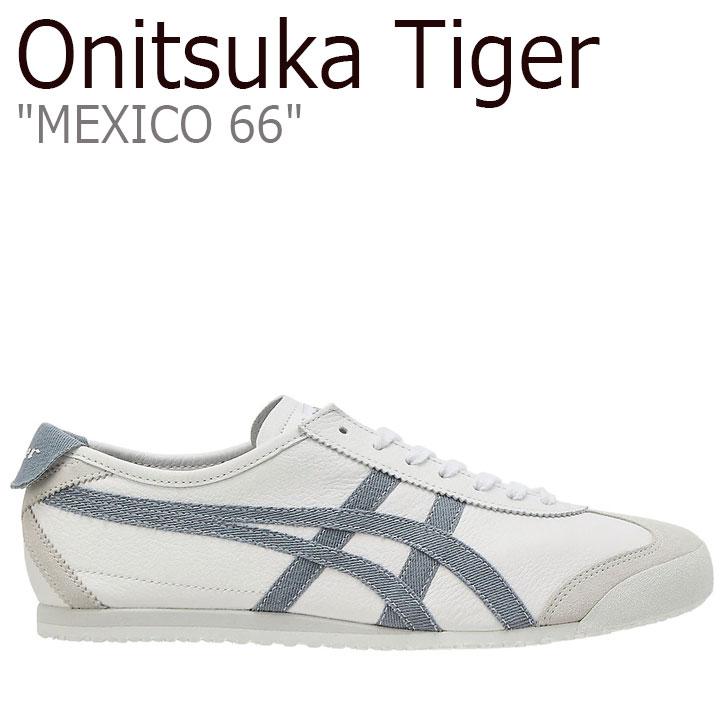オニツカタイガー メキシコ66 スニーカー Onitsuka Tiger メンズ レディース MEXICO 66 メキシコ 66 WHITE ホワイト GREY FLOSS グレーフロス 1183A876-101 シューズ