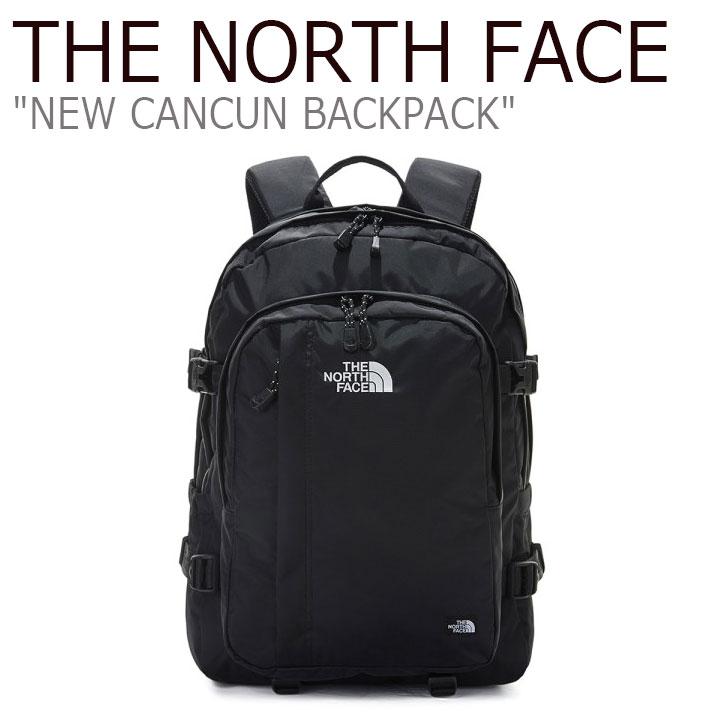 ノースフェイス リュック THE NORTH FACE メンズ レディース NEW CANCUN BACKPACK ニュー カンクン バックパック BLACK ブラック NM2DL50J バッグ 【中古】未使用品