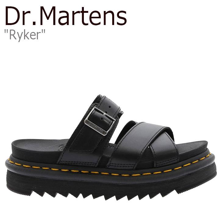 ドクターマーチン サンダル Dr.Martens メンズ レディース RYKER ライカー BLACK ブラック 24515001 シューズ 【中古】未使用品