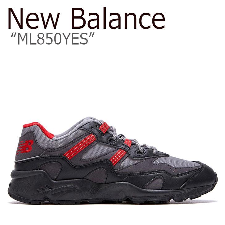 ニューバランス 850 スニーカー New Balance メンズ レディース ML 850 YES new balance 850 BLACK ブラック GREY グレー RED レッド NBPDAS138K ML850YES シューズ 【中古】未使用品
