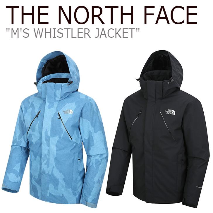 ノースフェイス ジャケット THE NORTH FACE メンズ M'S WHISTLER JACKET ウェスラージャケット INDIGO インディゴ BLACK ブラック NN2SJ50A/B ウェア 【中古】未使用品
