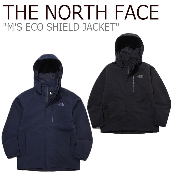 ノースフェイス ジャケット THE NORTH FACE メンズ M'S ECO SHIELD JACKET エコ シールドジャケット BLACK ブラック INK インク NJ2HL52A/C ウェア 【中古】未使用品