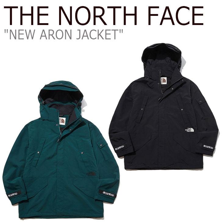 ノースフェイス ジャケット THE NORTH FACE メンズ レディース NEW ARON JACKET ニュー アーロンジャケット GREEN グリーン BLACK ブラック NJ4HL51J/K ウェア 【中古】未使用品