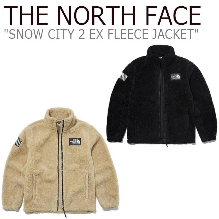 フリース ノースフェイス THE NORTH FACE メンズ レディース SNOW CITY 2 EX FLEECE JACKET スノー シティ 2 EX フリースジャケット 全2色 NN4FL57A/B ウェア 【中古】未使用品