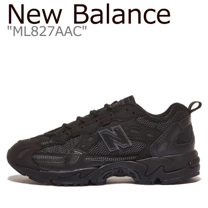ニューバランス NewBalance ニューバランススニーカー new balance ニューバランスメンズ ニューバランスレディース ml 827 aac 海外直輸入USED品 スニーカー バーゲンセール 未使用品 メンズ レディース Balance BLACK New ML ML827AAC ブラック 中古 絶品 シューズ AAC