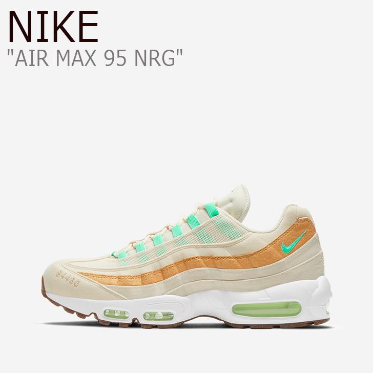 ナイキシューズ Nike nike Nikeスニーカー レディーススニーカー ナイキレディース airmax95 エアマックスレディース 海外直輸入USED品 ナイキ スニーカー NIKE メンズ お中元 レディース AIR グリン ベージュ 半額 GREEN シューズ 95 GOLD エアマックス95 ゴールド 未使用品 NRG BEIGE MAX CZ0154-100 中古