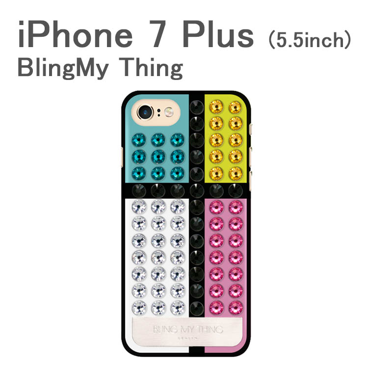 お取り寄せ iPhone7 Plus ケース カバー BlingMy Thing Extravaganza De Stijl for iPhone 7 Plus アイフォン7 Plus アイフォーン7 Plus ケースカバー
