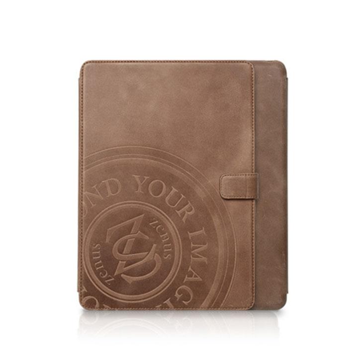 お取り寄せ iPad 2018 2017 ケースiPad Air iPad 9.7インチ ZENUS Prestige Vintage Signage Diary Z2852iPA タブレットケース