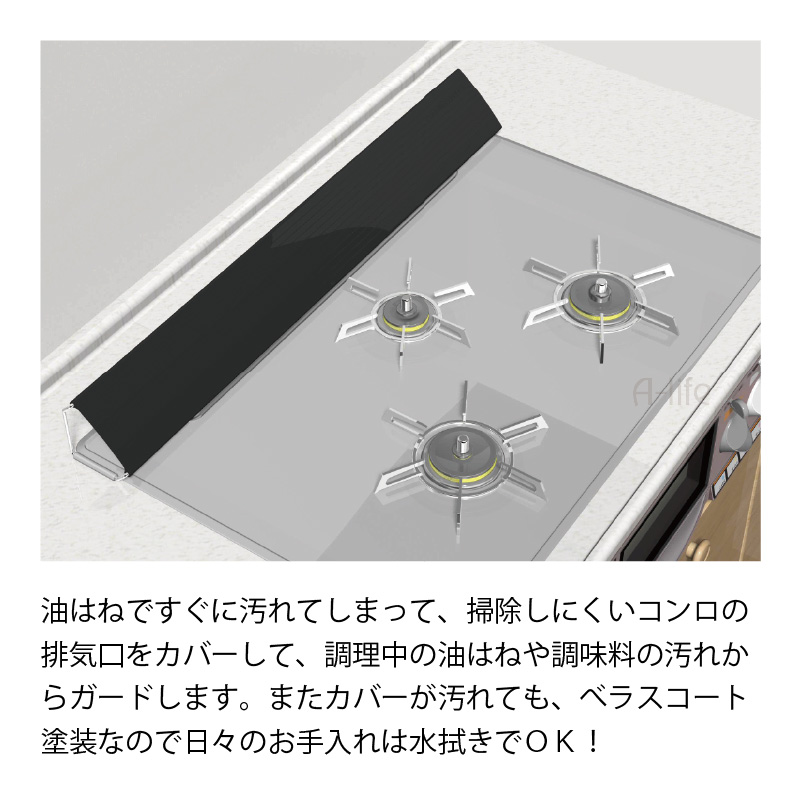 Stove Exhaust Vent Cover White Black Stove Top Rack Velasco Et Oil Guard Telescopic Dirt Clearance Washable Guard Ih Vent Cover Ih Stove Kitchen