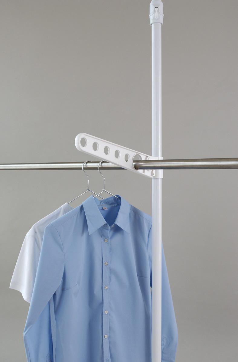 SALE開催中 正規品送料無料 簡単 つっぱりポール ハンガー シリーズ用つっぱりポールハンガー 洗濯 コート