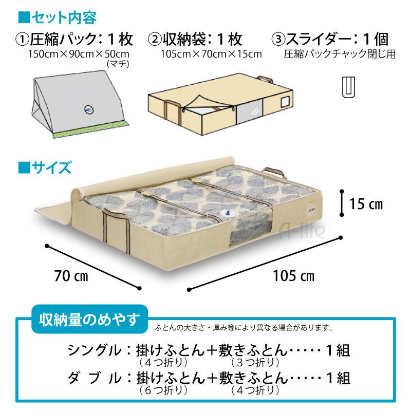 Elegant Storage Bag With Compression Pack Futon ((compression BOX Compression Bags  Futon Futon Compression Bag
