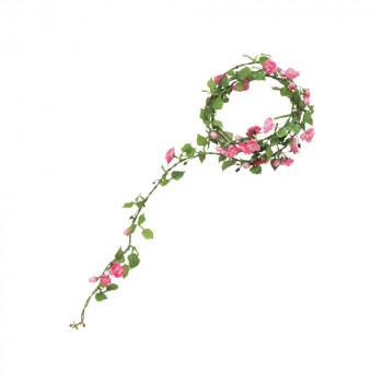 アーティフィシャルフラワー ローズロープ ピンク 12本セット GA0104 アレンジメント【送料無料】