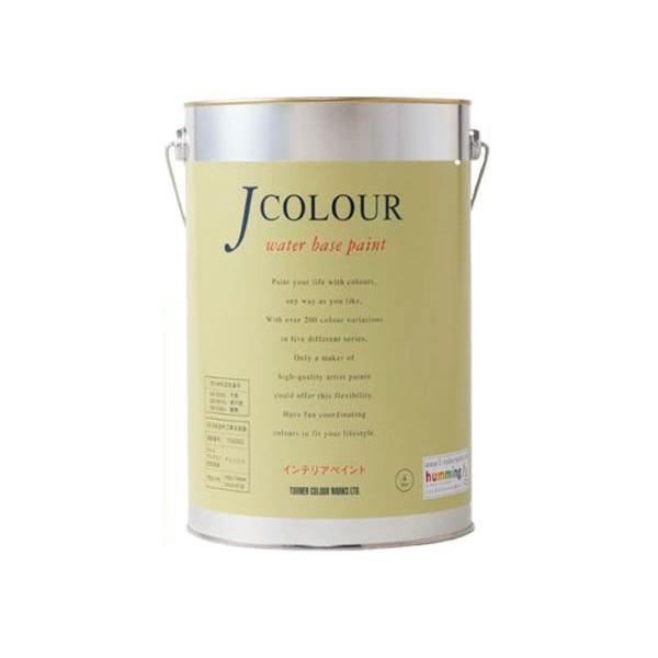 ターナー色彩 水性インテリアペイント Jカラー 4L イエローパフ JC40BL3B(BL-3b)【送料無料】