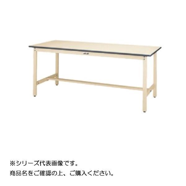 SWR-1875-II+L1-IV ワークテーブル 300シリーズ 固定(H740mm)(1段(浅型W500mm)キャビネット付き)【送料無料】