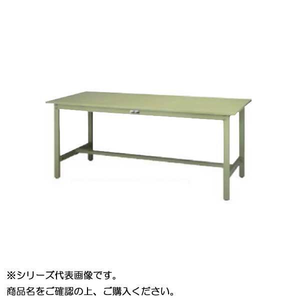 SWS-975-GG+L1-G ワークテーブル 300シリーズ 固定(H740mm)(1段(浅型W500mm)キャビネット付き)【送料無料】