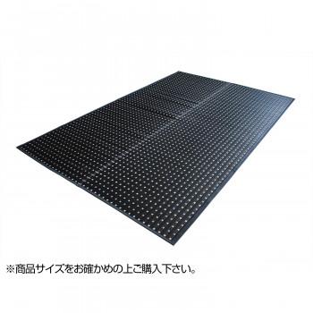 トーシン い草 ラグ 掛川織 左京 ブラック 174×174cm【送料無料】