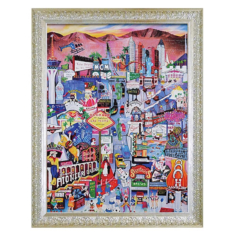 アート 壁掛け 絵ユーパワー リネア パーゴラ「ラスベガス」 LP-25001【送料無料】
